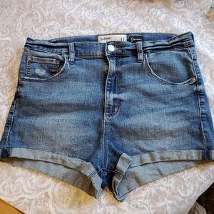 Garage Sz 11 Ultra Hi Rise Jean Shorts